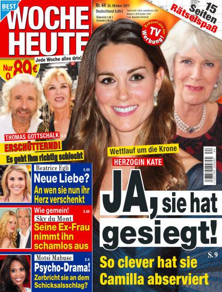 Woche Heute October 25, 2017 00:00