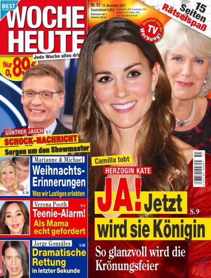 Woche Heute December 13, 2017 00:00