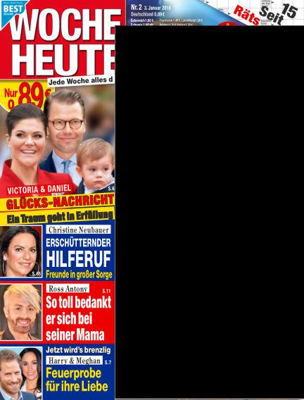 Woche Heute January 03, 2018 00:00