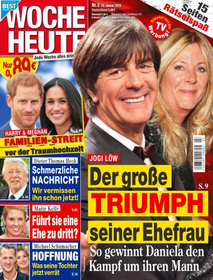 Woche Heute January 10, 2018 00:00