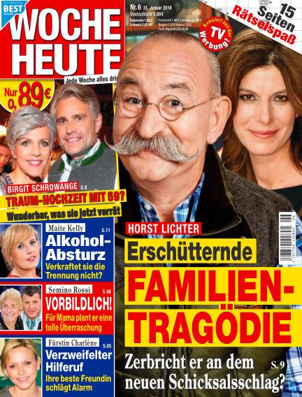 Woche Heute January 31, 2018 00:00