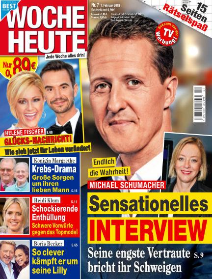 Woche Heute February 07, 2018 00:00