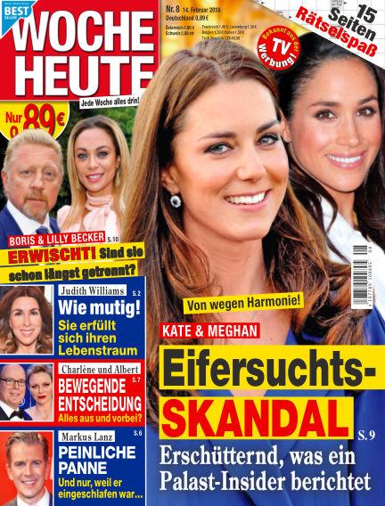 Woche Heute February 14, 2018 00:00