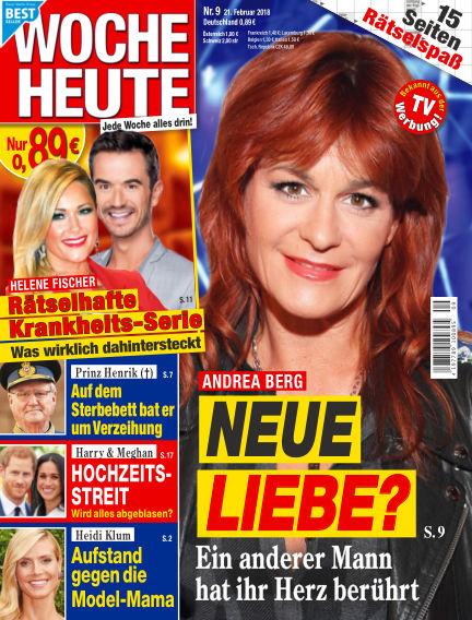 Woche Heute February 21, 2018 00:00