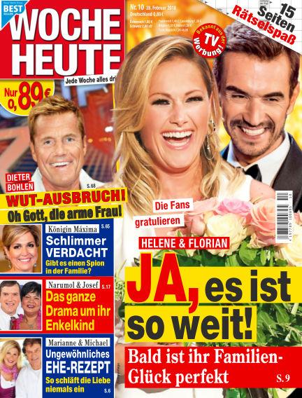 Woche Heute February 28, 2018 00:00