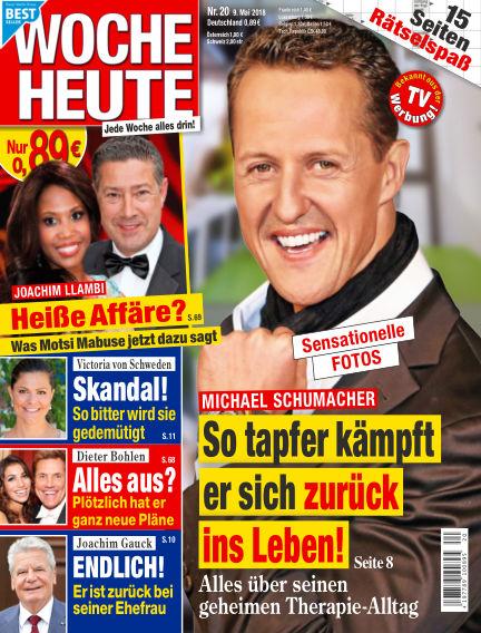 Woche Heute May 09, 2018 00:00