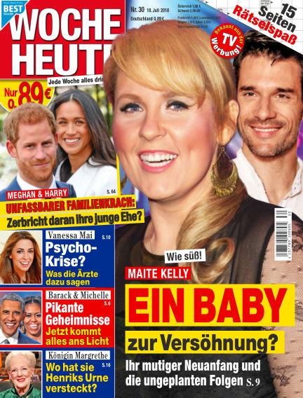 Woche Heute July 18, 2018 00:00