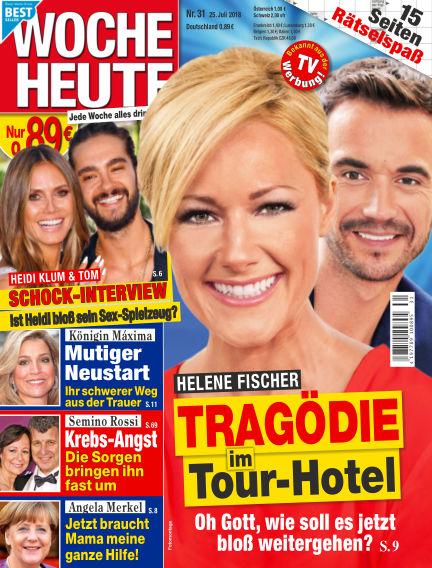 Woche Heute July 25, 2018 00:00