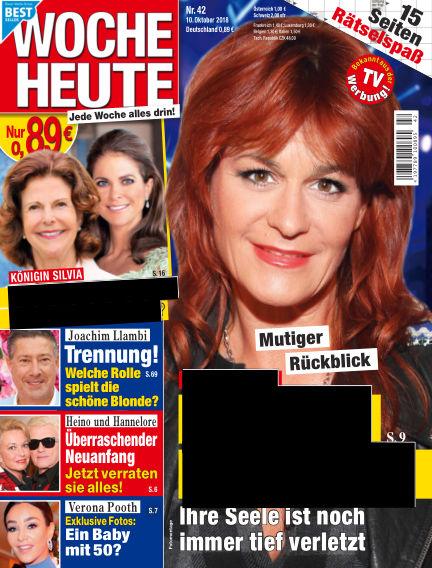 Woche Heute October 10, 2018 00:00