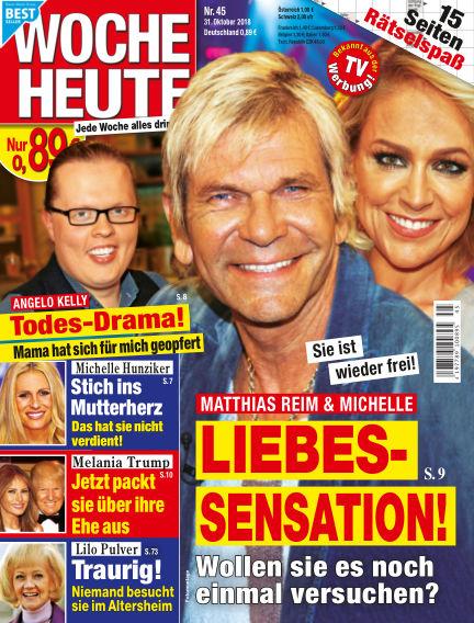 Woche Heute October 31, 2018 00:00