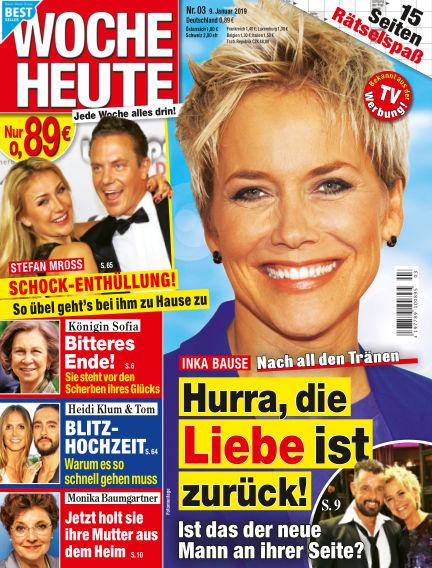 Woche Heute January 09, 2019 00:00