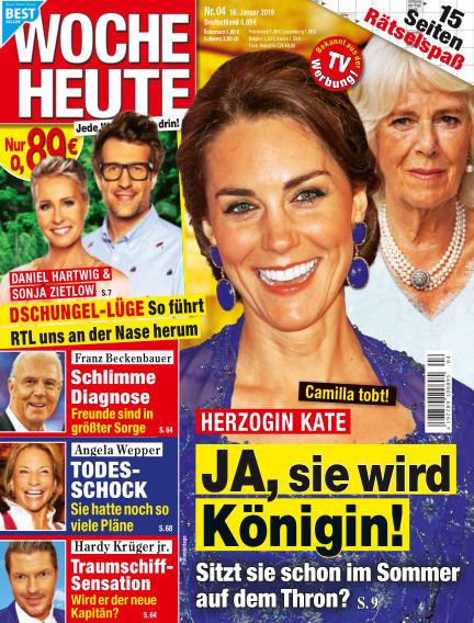 Woche Heute January 16, 2019 00:00
