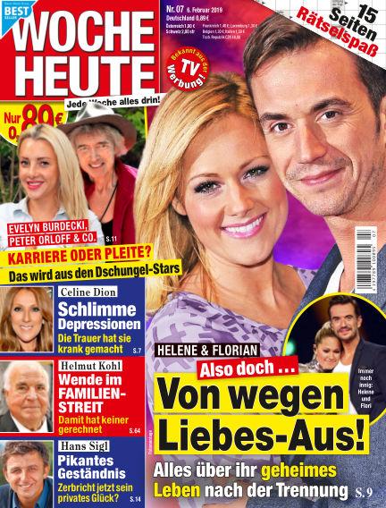 Woche Heute February 06, 2019 00:00