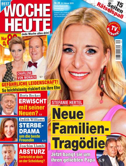 Woche Heute February 20, 2019 00:00