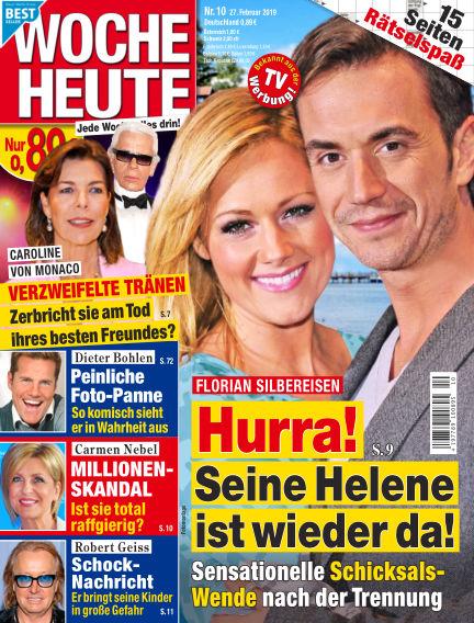 Woche Heute February 27, 2019 00:00