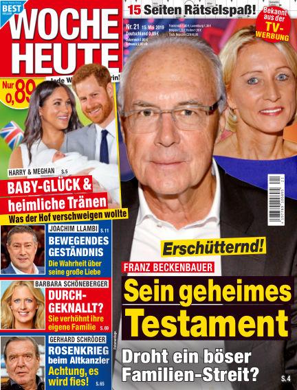Woche Heute May 15, 2019 00:00