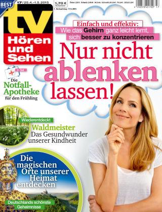 TV Hören und Sehen NR.17 2015