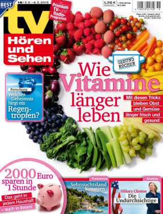 TV Hören und Sehen NR.18 2015