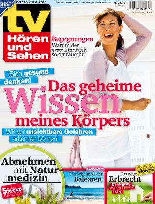 TV Hören und Sehen NR.25 2015