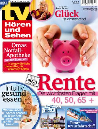 TV Hören und Sehen NR.27 2015