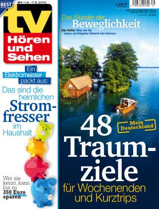 TV Hören und Sehen NR.31 2015