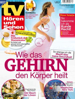 TV Hören und Sehen NR.34 2015