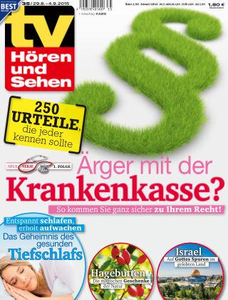 TV Hören und Sehen Nr. 35 2015