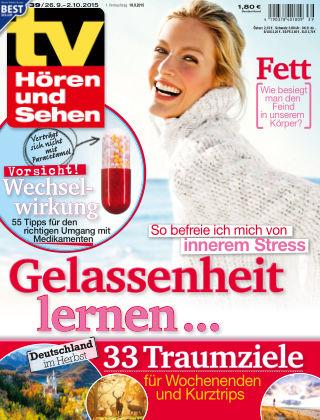 TV Hören und Sehen NR.39 2015