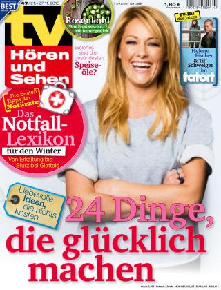 TV Hören und Sehen NR.47 2015