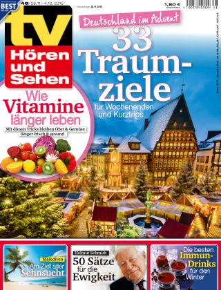 TV Hören und Sehen NR.48 2015