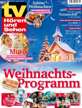 TV Hören und Sehen NR.51 2015