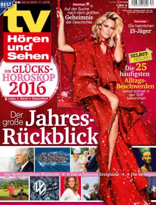 TV Hören und Sehen NR.52 2015