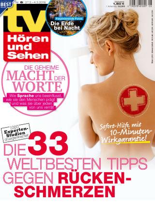 TV Hören und Sehen NR.08 2016