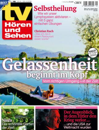 TV Hören und Sehen NR.16 2016