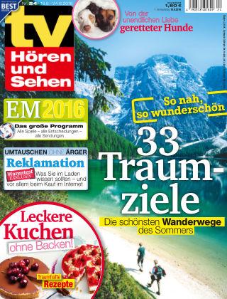 TV Hören und Sehen NR.24 2016