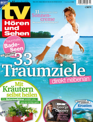 TV Hören und Sehen NR.27 2016