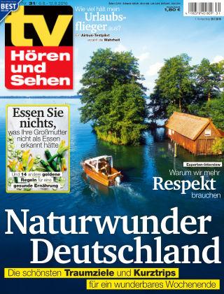 TV Hören und Sehen NR.31 2016