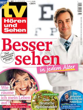 TV Hören und Sehen NR.37 2016