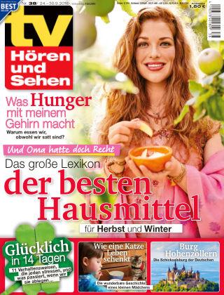 TV Hören und Sehen NR.38 2016