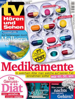 TV Hören und Sehen NR.40 2016