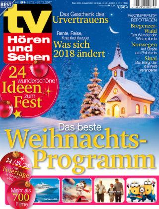 TV Hören und Sehen NR.51 2017