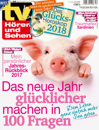 TV Hören und Sehen NR.52 2017