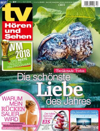 TV Hören und Sehen NR.27 2018