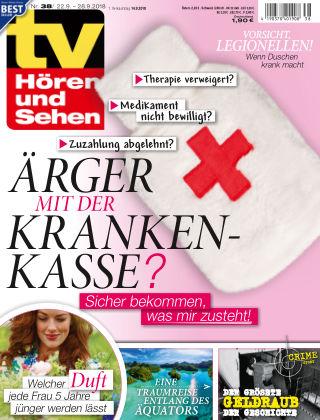 TV Hören und Sehen NR.38 2018