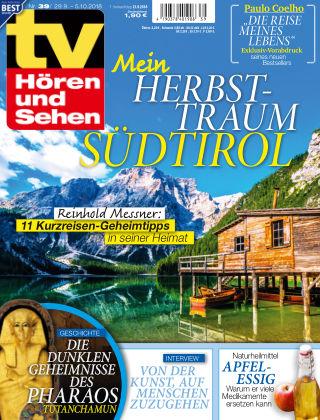 TV Hören und Sehen NR.39 2018