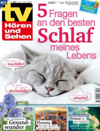 TV Hören und Sehen NR.33 2019