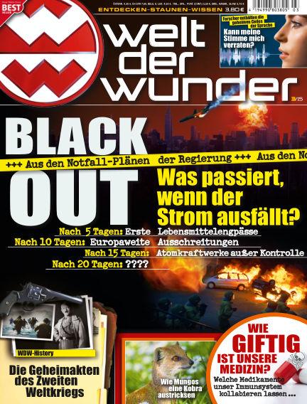 Welt der Wunder February 27, 2015 00:00