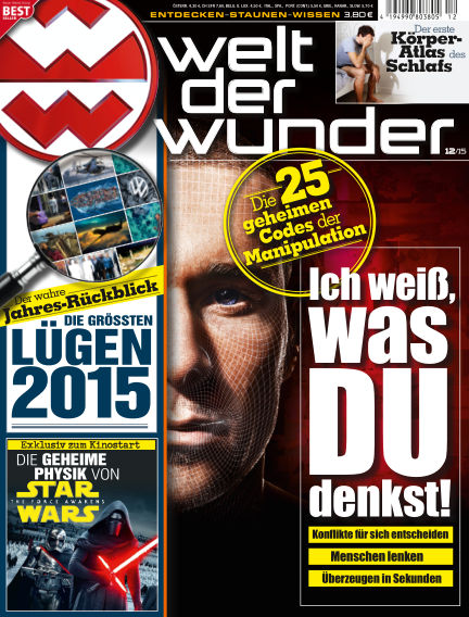 Welt der Wunder November 27, 2015 00:00