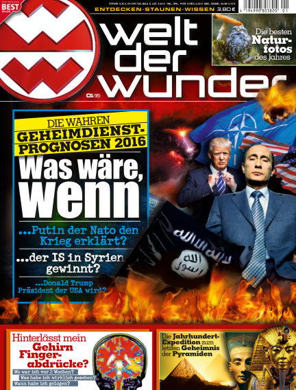 Welt der Wunder December 30, 2015 00:00