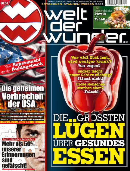 Welt der Wunder February 26, 2016 00:00